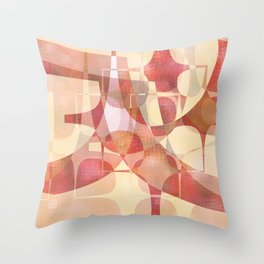 Softly Softly Throw Pillow