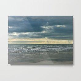 autumn Sea Metal Print