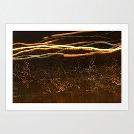 Ray of Lights 2 Art Print