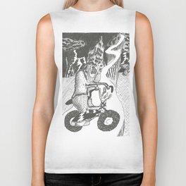 Candle Bike Biker Tank