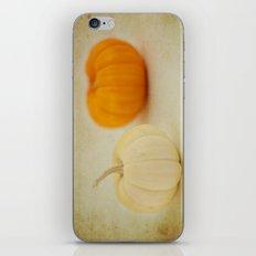Two Pumpkins iPhone & iPod Skin