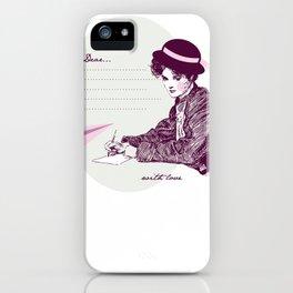 Lady Jane iPhone Case