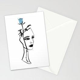 Rose Vase Stationery Cards