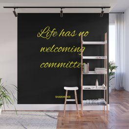 Welcoming committee Wall Mural