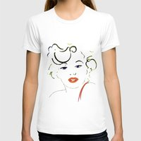 marylin monroe T-shirts featuring Out with Marylin by Irène Sneddon