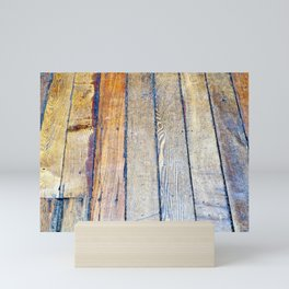 Floorboards Mini Art Print