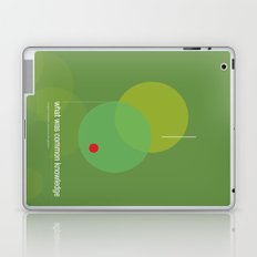 what was common knowledge Laptop & iPad Skin