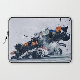 Formula One Crash Laptop Sleeve