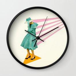 Windswept Wall Clock