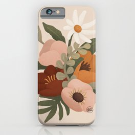 Gloria Floral iPhone Case