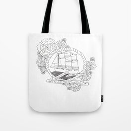 A Ship in the Harbor Tote Bag