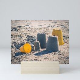 Sand Castle Mini Art Print