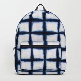 Shibori Squares Backpack