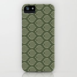 Olive Scales iPhone Case