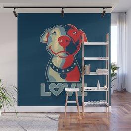 Pitbull - Love Wall Mural