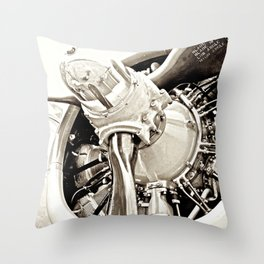 B17 Throw Pillow