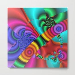 color explosion -3- Metal Print