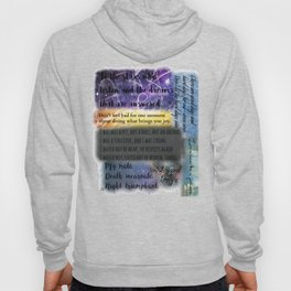 ACOMAF QUOTES Hoody