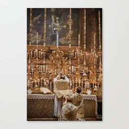 Unto Us A Son Is Given Canvas Print