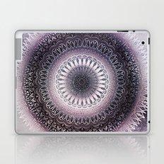 PURPLE WINTER LEAVES MANDALA Laptop & iPad Skin