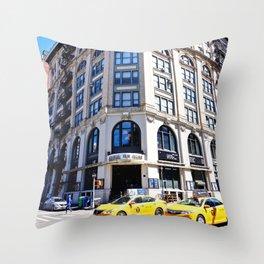 SoHo New York City Street Throw Pillow