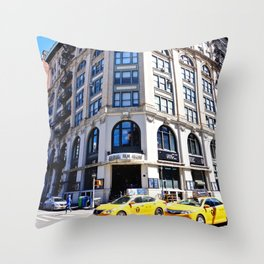 SoHo New York City Street Throw Pillow