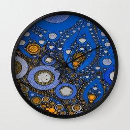 :: My Blue Bandana :: Wall Clock