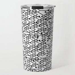 Microchip Pattern Travel Mug