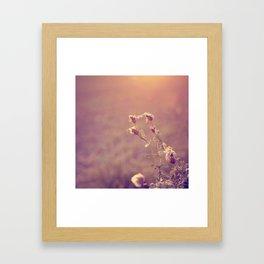 the softer you^^ Framed Art Print