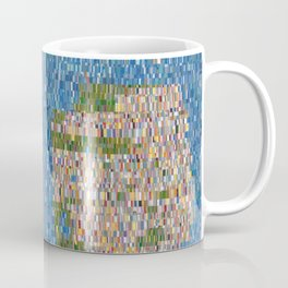 San Francisco Map Collagescape Coffee Mug