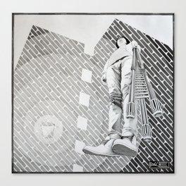 Desintegrator Canvas Print