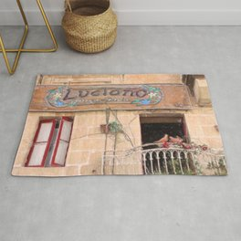 Luciano's Pizza Rug