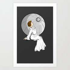 Sorrow of Leia Art Print