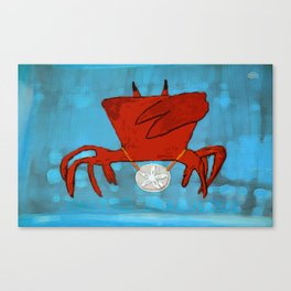Ghetto Crabulous Canvas Print