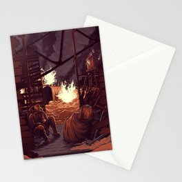 Why Don't We Just Wait Here a While Stationery Cards