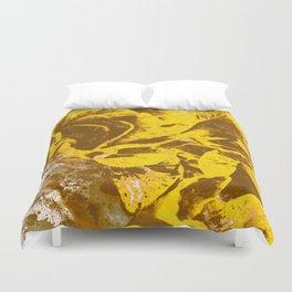 Yellow Rose Watercolor Duvet Cover