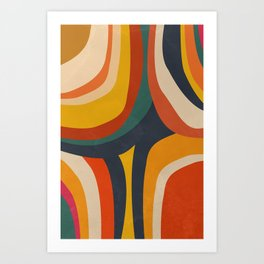 Feeling Retro Art Print