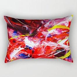 Abstract in acrylic Rectangular Pillow