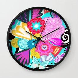Viva la Primavera Wall Clock