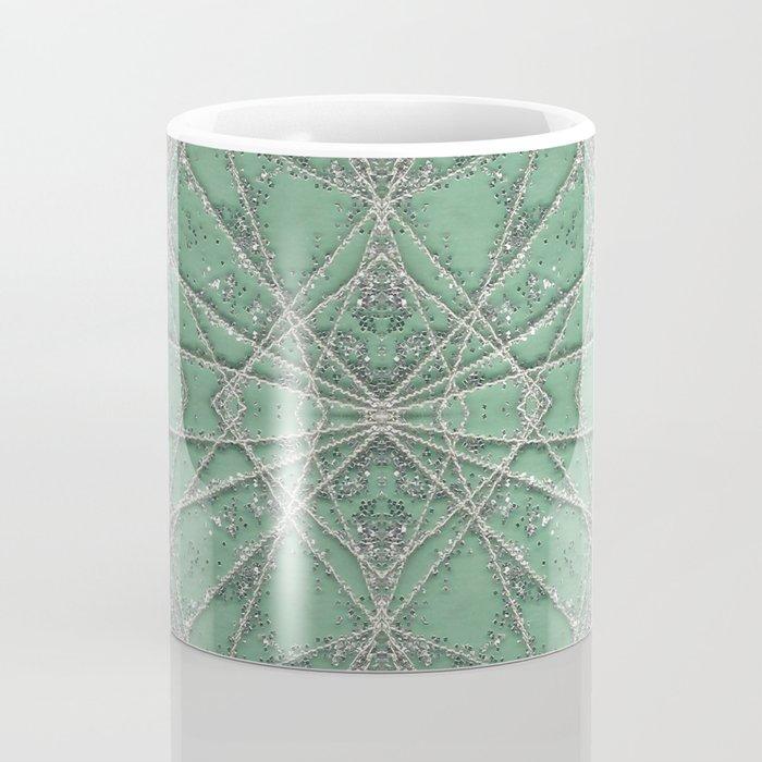 Snowflake Mint Coffee Mug