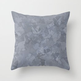 Silver Mountain Throw Pillow