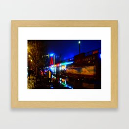 Shanghai 八 Framed Art Print