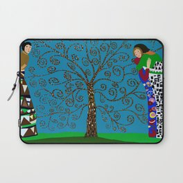 Klimt Style Tree of Life Laptop Sleeve