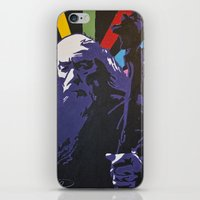 gandalf iPhone & iPod Skins featuring Technicolor Gandalf by Max Freund