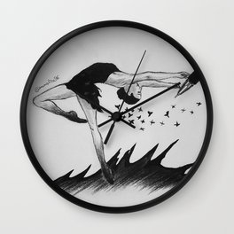 Ballet is my freedom Wall Clock