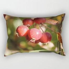 Splash of Red Rectangular Pillow