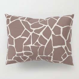Brown Elephant Pillow Sham