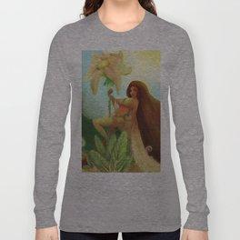 Lap dance plantureuse  Long Sleeve T-shirt