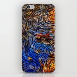 gogh style iPhone Skin