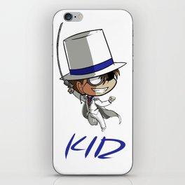 Kaito Kid Chibi iPhone Skin